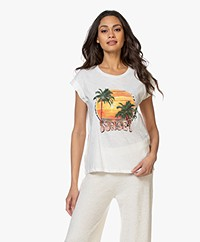 MKT Studio Taset Print T-shirt - Crayon