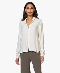 by-bar Jonna Viscose Blouse - Off-white