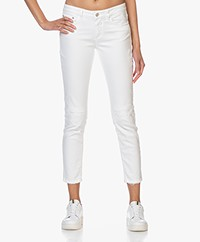 Closed Baker Distressed Slim-fit Jeans - White
