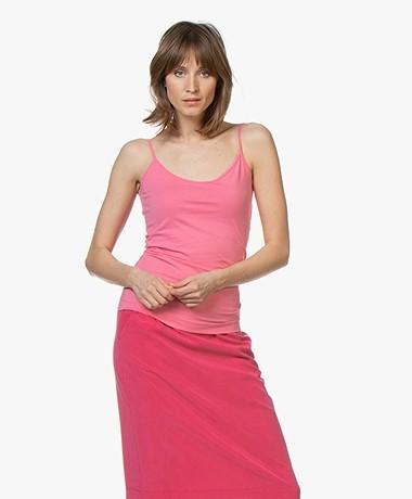 Josephine & Co Carlijn Jersey Spaghetti Strap Top - Pink