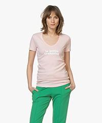 La Petite Française Thibault Logo T-Shirt - Rose