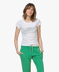 Zadig & Voltaire Skinny Love Print T-shirt - White