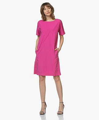 Closed Orchid Cotton Poplin Dress - Magenta