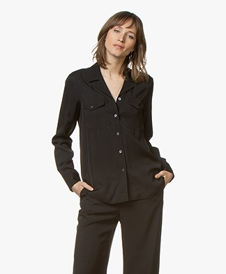 Filippa K Cruise Blouse - Black