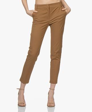 La Petite Française Pascal Twill Pants - Camel