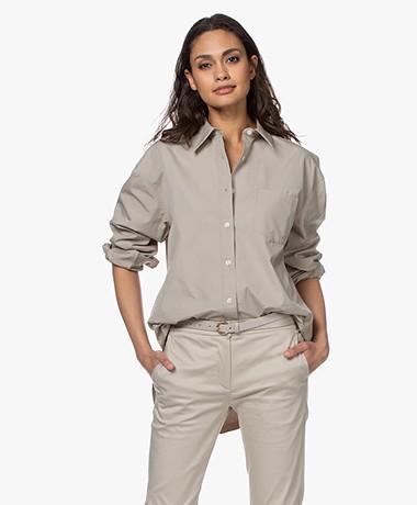 Filippa K Sammy Pure Cotton Shirt - Light Sage
