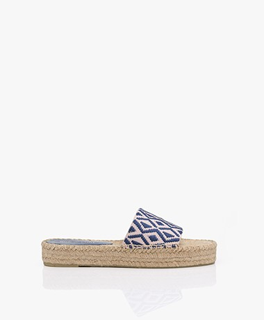 indi & cold Espadrille Slippers - Cobalto