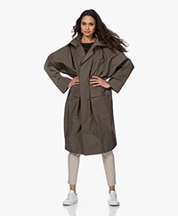 Woman by Earn Ivy Oversized Parka - Army