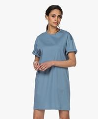 Filippa K Maddie Cotton Jersey T-shirt Dress - Blue Heaven