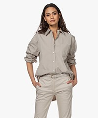 Filippa K Sammy Pure Cotton Shirt - Light Sage