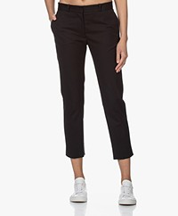 Joseph Bing Court Cropped Pants - Black