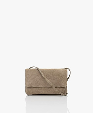by-bar Julie Suede Cross-body Bag - Sand