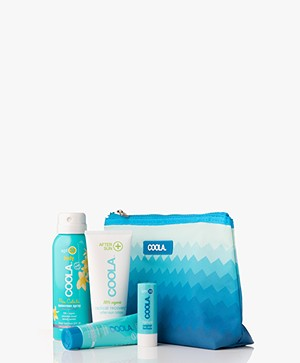 COOLA 4 Piece Organic Suncare Travel Set