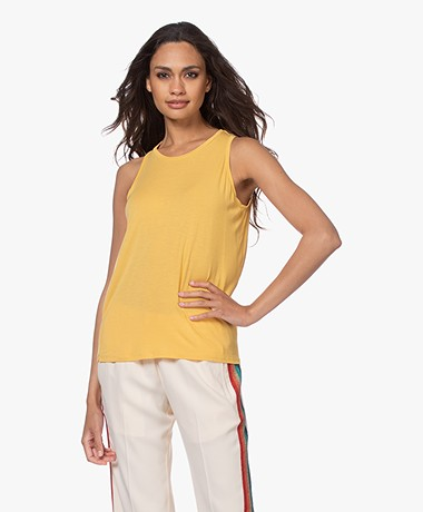 Majestic Filatures Super Washed Jersey Tanktop - Yellow