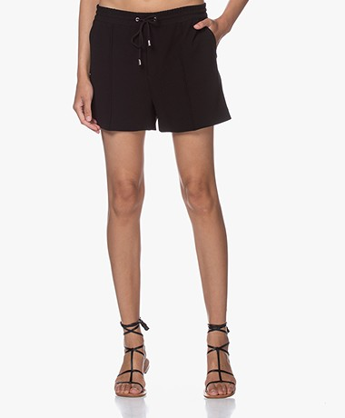 Filippa K Kelly Crepe Shorts - Black