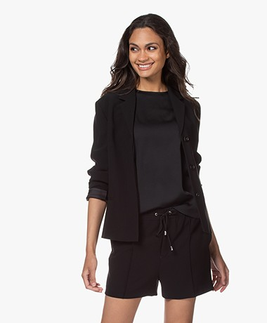 Filippa K Maylene Sustainable Tailored Jacket - Black