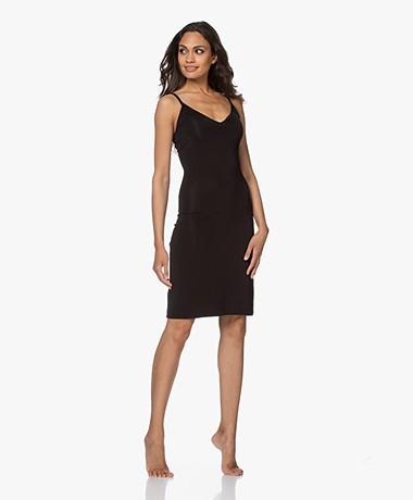 By Malene Birger Camille Viscose Jersey Slip Dress - Black