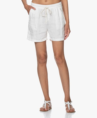 Josephine & Co Brigit Linen Shorts - White