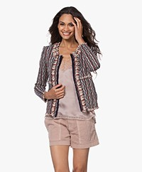 IRO Inland Open Tweed Jacket - Multi-color