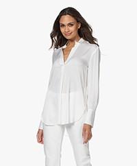By Malene Birger Mabillon Silk Blouse - Soft White
