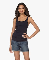 James Perse Long Tank Top - Deep Dark Blue