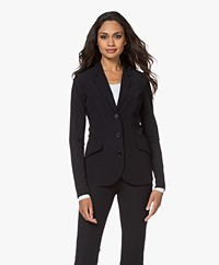 JapanTKY Dannot Travel Jersey Blazer - Black