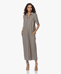 JapanTKY Yidel Travel Jersey Maxi Dress - Olive