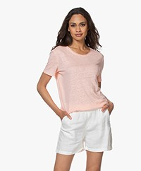 Josephine & Co Bia Linen T-shirt - Light Pink