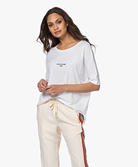 Zadig & Voltaire Alty Zadig 2020 Modalmix T-shirt - Wit