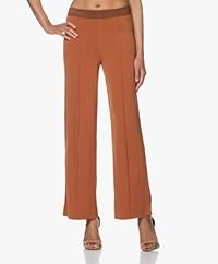 By Malene Birger Miela Crepe Jersey Pants - Brick