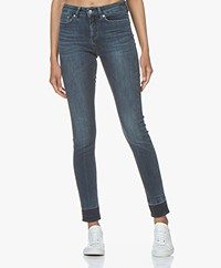 Drykorn Pull Released Hem Skinny Jeans - Middenblauw