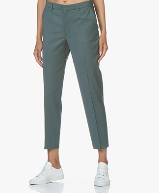 Filippa K Emma Cropped Cool wool Pants - River