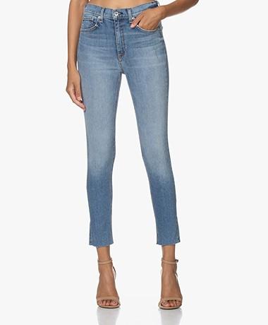 Rag & Bone High Rise Ankle Skinny Jeans - Ellerly