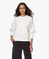 American Vintage Ibowie French Terry Sweatshirt - Ecru