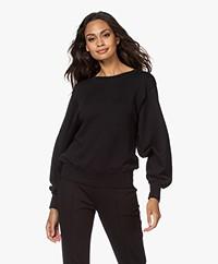 American Vintage Fobye French Terry Sweatshirt - Vintage Black