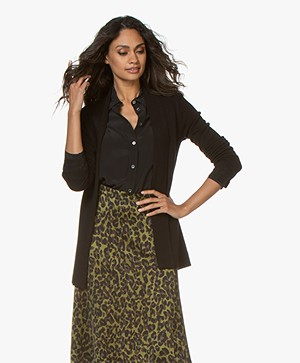 LaSalle Open Cardigan from Soy Beans - Black
