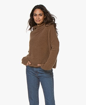 Filippa K Mika Yak Sweater - Hazelnut