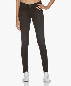 Denham Spray Super Tight Fit Jeans - Donkerblauw