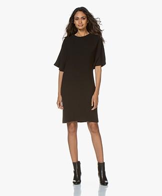 Filippa K Marina Wool Jurk - Zwart