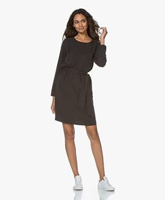 Josephine & Co Galina Tencel Twill Dress - Black