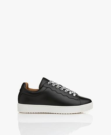 See by Chloé Essie Leren Sneakers - Zwart