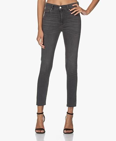 IRO Kamina High-rise Cropped Skinny Jeans - Grey Washed