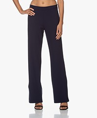 Woman by Earn Tammy Stretch Crepe Pants - Navy