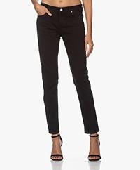 MKT Studio The Bardot Power Stretch Jeans - Black Garbage Wash