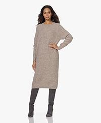 Sibin/Linnebjerg Toulon Alpaca Blend Knitted Dress - Sand