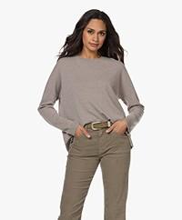 Closed Cashmere Sweater - Muddy Beige