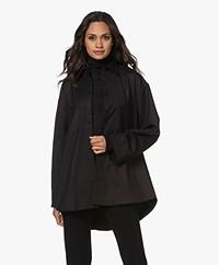 Filippa K Sandie Flannel Shirt - Black