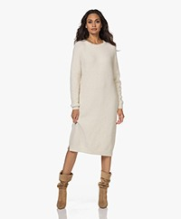 Sibin/Linnebjerg Toulon Alpaca Blend Knitted Dress - Off-white