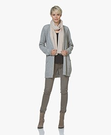 Resort Finest Pockets Cardigan in Cashmere Blend - Grey