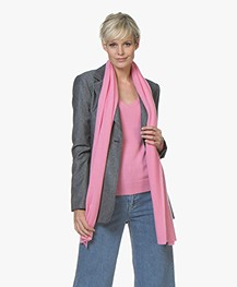 Repeat Cashmere Sjaal - Roze